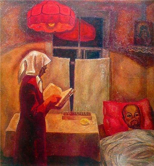 В.Е.Попков  «Мать и сын», 1970 г.