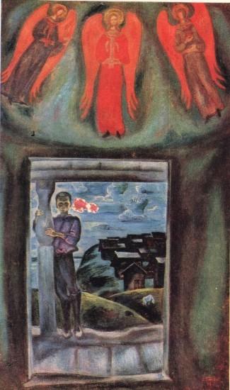 В.Е. Попков  «Северная часовня»,  1972 г.