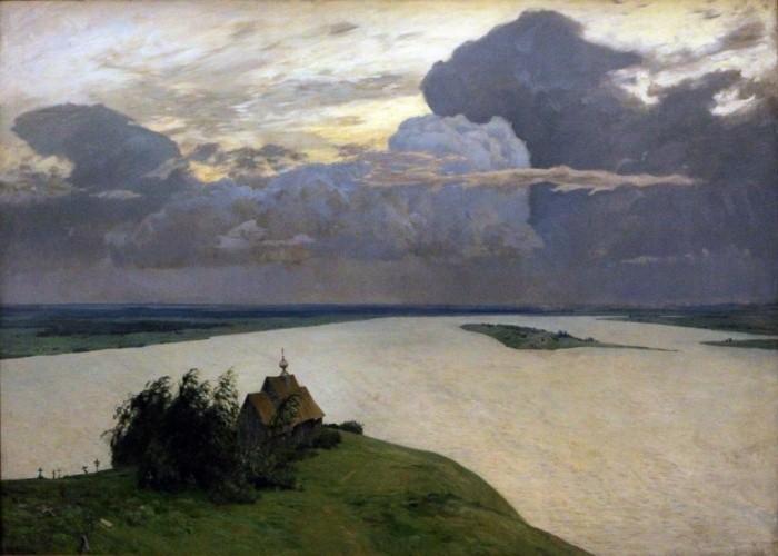 И. Левитан «Над вечным покоем»