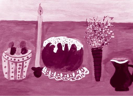 «моя Пасха», Юлия Кретова, 10лет